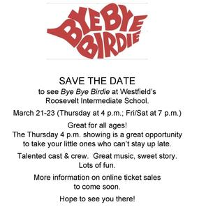 Flyer announcing the Spring production of