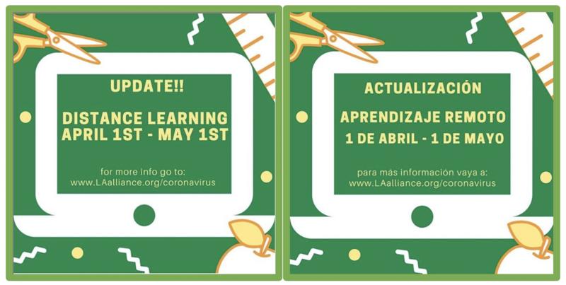 Distance Learning / Aprendizaje Remoto Thumbnail Image