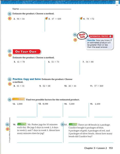 Go math p. 153 estimating products practice problems.JPG
