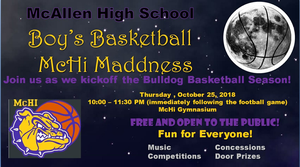 MCHI MADNESS, Boys Basketball