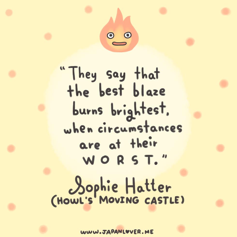 howl's quote