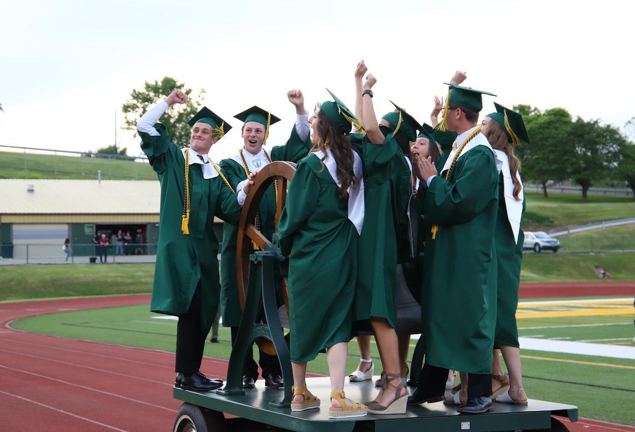 seniors ringing bell