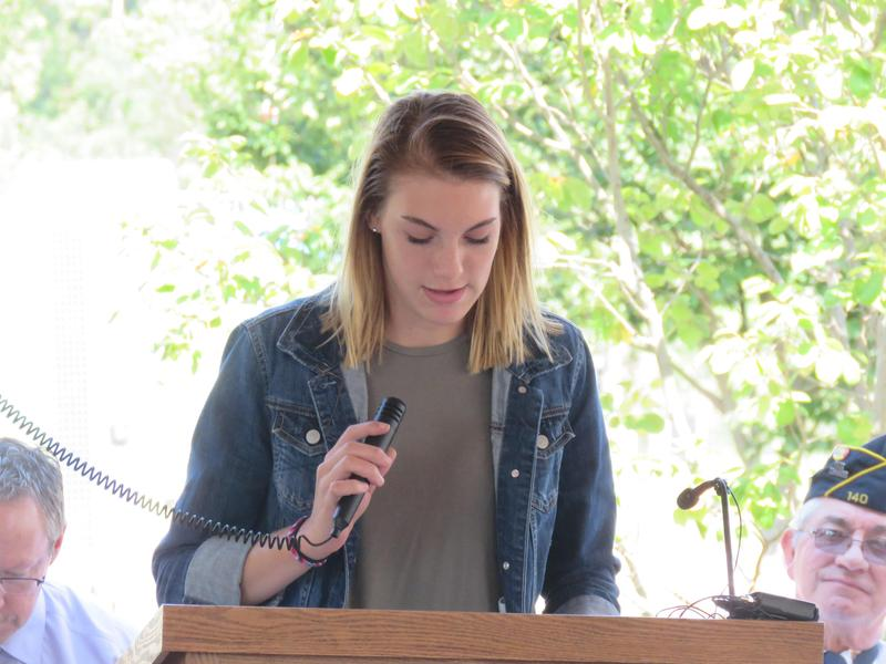 TKHS student Hanna Hollis talks about the impact of 9-11 on her family.