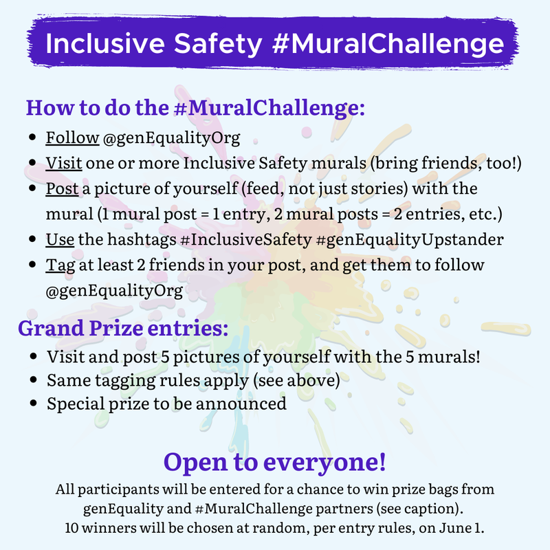 Inclusive Safety Mural Challenge #MuralChallenge Featured Photo