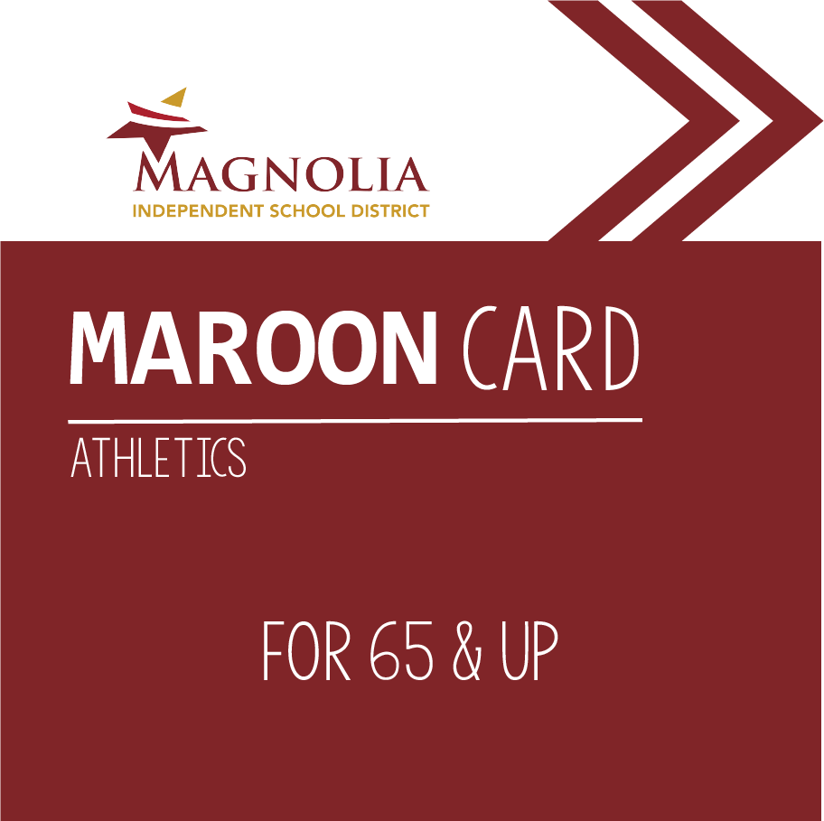Are you 65 or older? Get your Maroon Card for free access to all athletic events