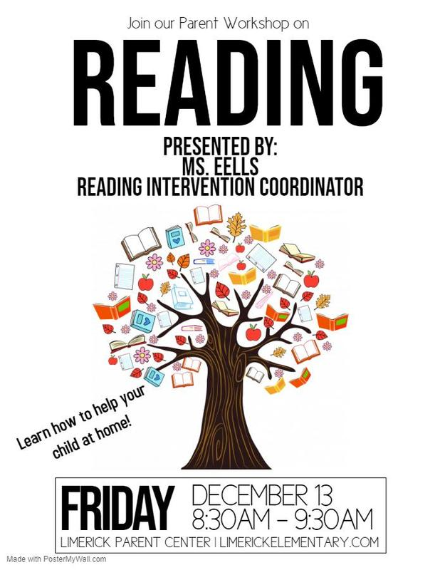 Reading Workshop for Parents / Taller de Lectura para Padres Thumbnail Image