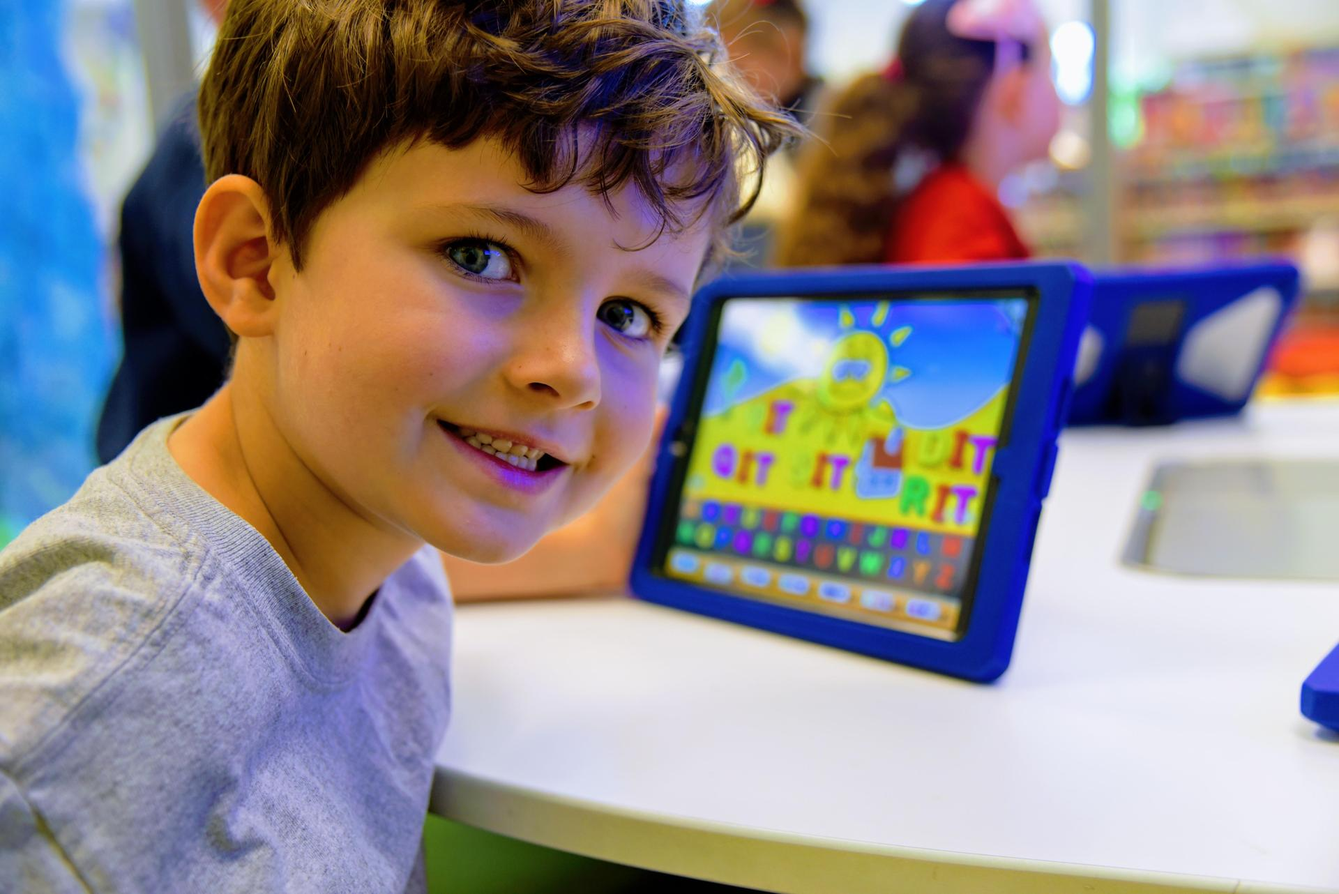 Kindergarten with iPad