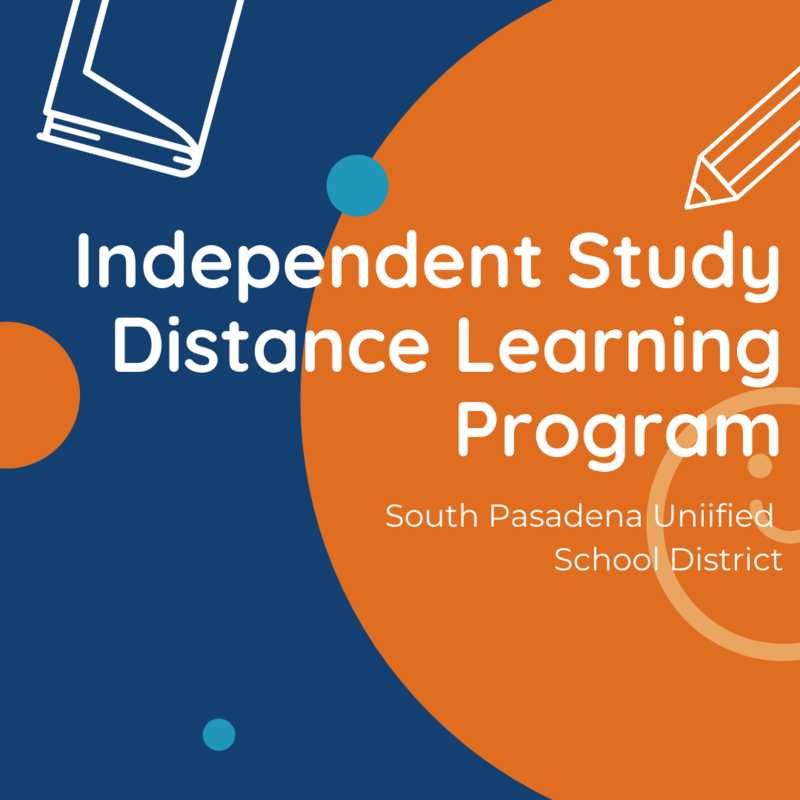 Independent Study Distance Learning Program