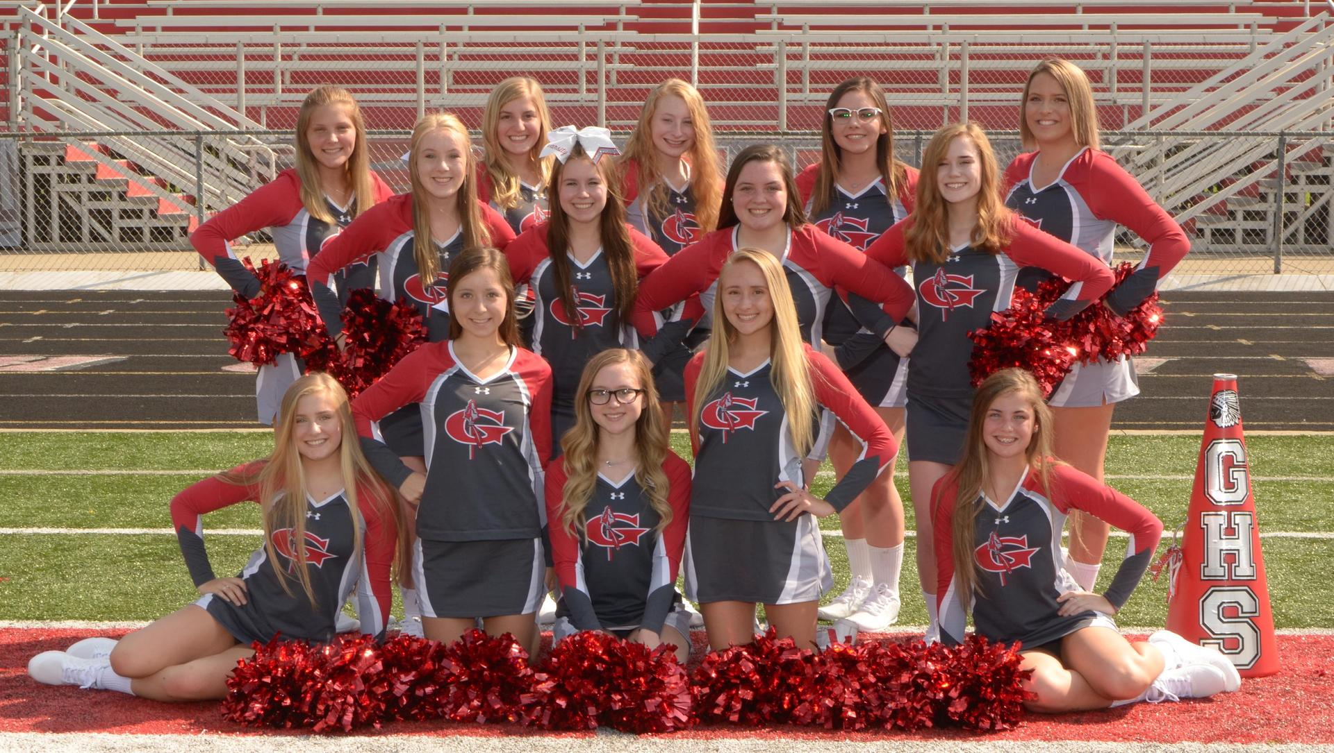 Warrior Varsity Cheerleaders