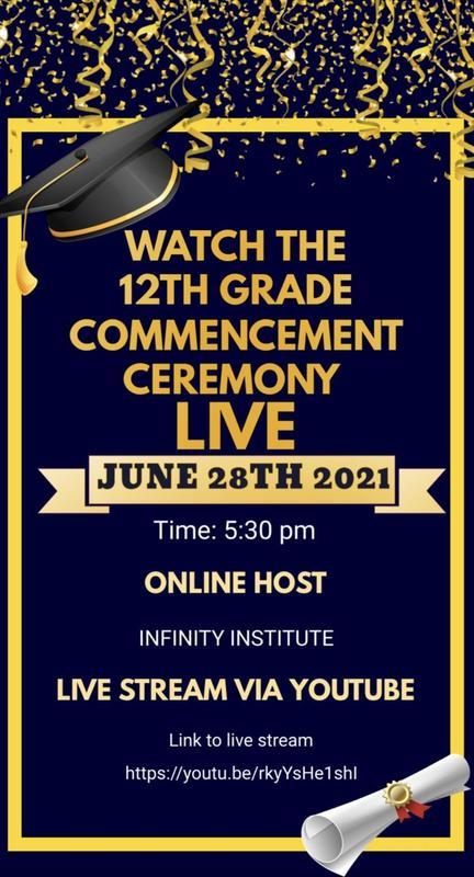 12th Grade Graduation Live-Stream Featured Photo