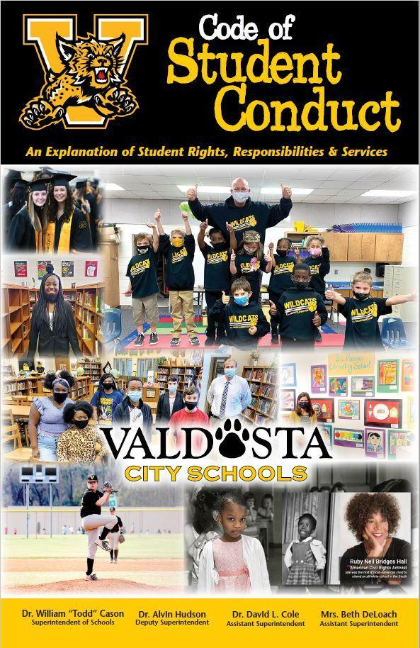 2021.22 Code of Student Conduct Cover
