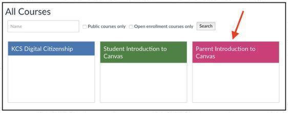 parent course