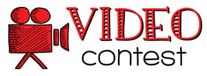 a video camera and sign that says video contest