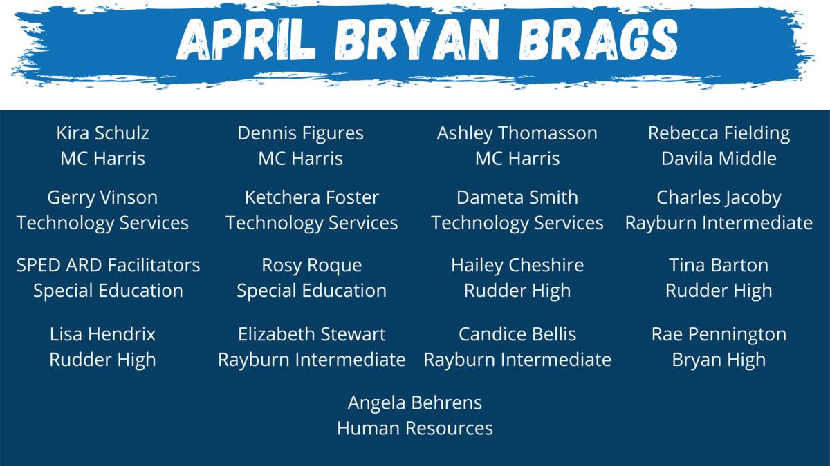 April Bryan Brags