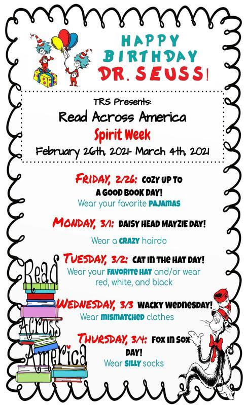 TRS Spirit Week