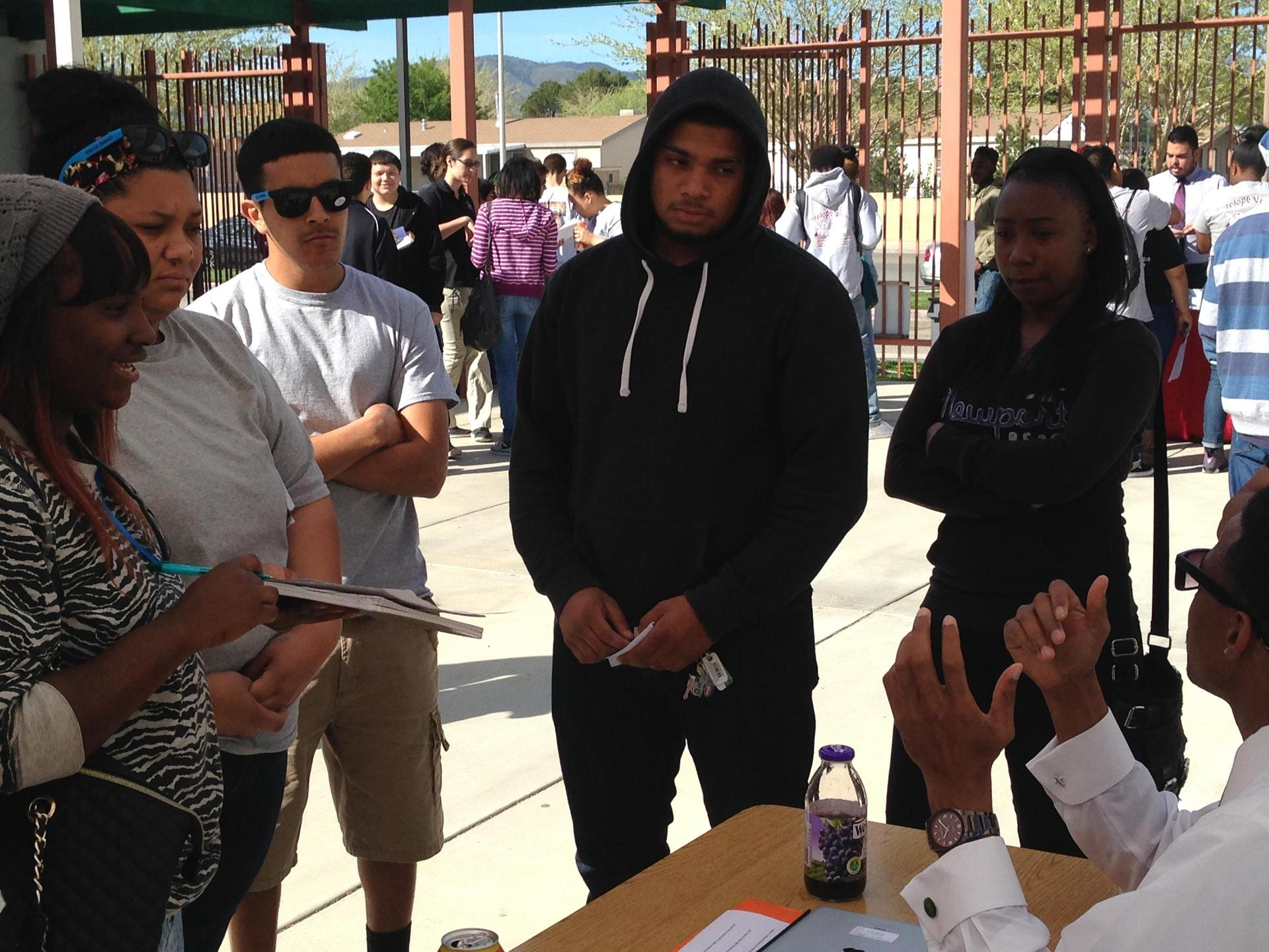 Palmdale students