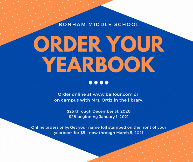 Order Your 2020-2021 Yearbook Featured Photo