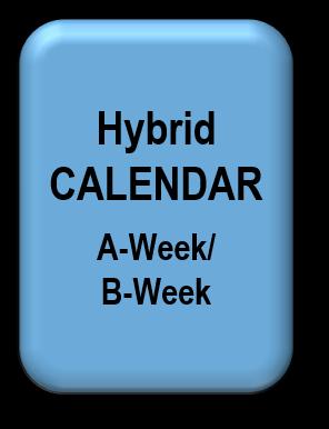 Hybrid CALENDAR -- A-week B-week