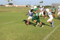 7th Grade battles against Valley View Tigers