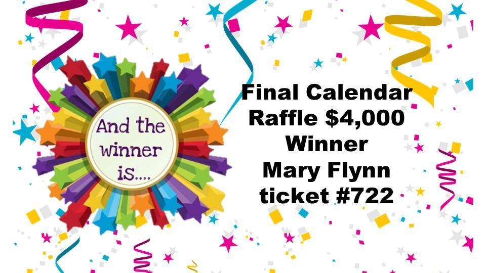 Calendar Raffle Final Winner