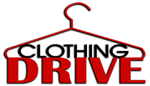 Pic of a clothing hanger for Clothing Drive