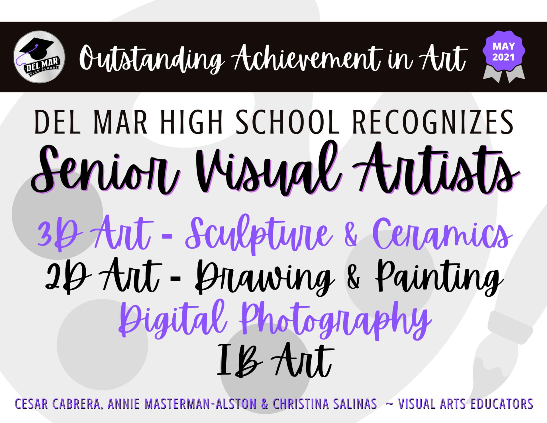 visual art seniors