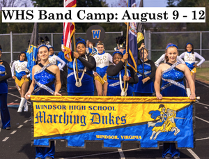 WHS Band Camp August 9-12