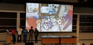 Pope John zero robotics ISS Finals 3