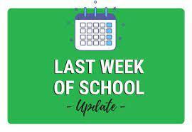 Final Week of School-ALL MODIFIED DAYS Featured Photo