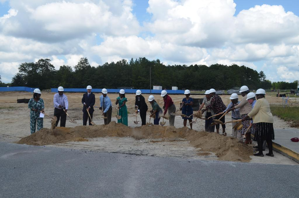 2019-20 Groundbreaking Ceremony - New CTE