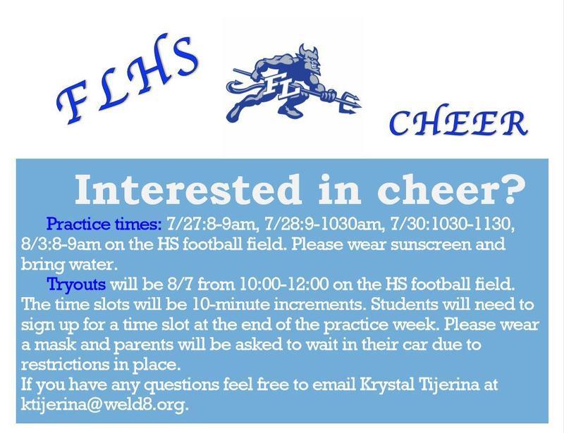 FLHS Cheer Flyer