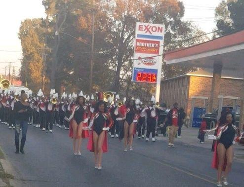 Photo of Baker High Symphony of Soul in December 2nd Parade in Baker