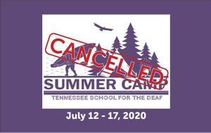 Summer Camp Cancelled