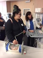 Doing fetal ultrasound