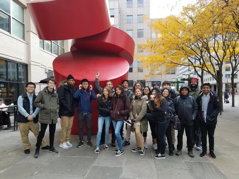 Maspeth High School Students Visit NYU Tandon School of Engineering Featured Photo