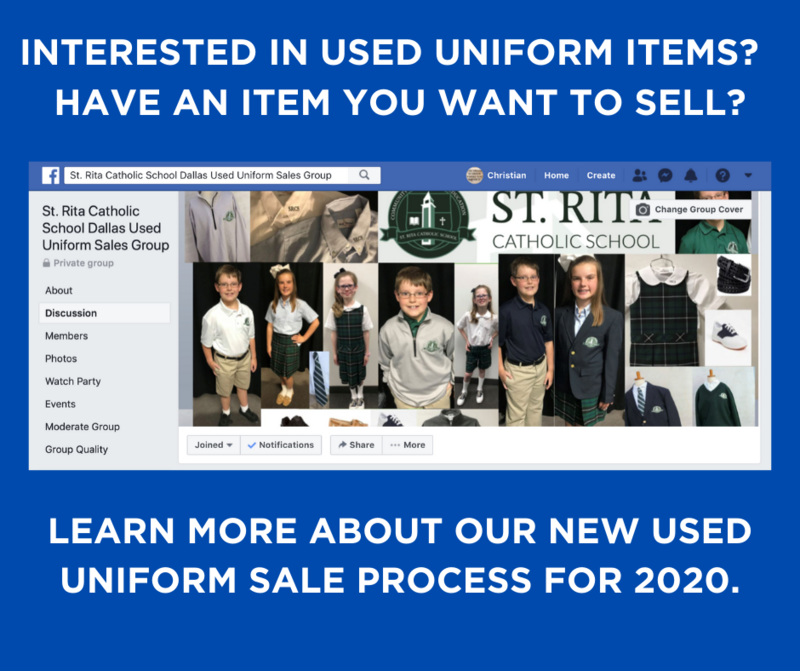 Our Used Uniform Sale is Online and Underway! Thumbnail Image