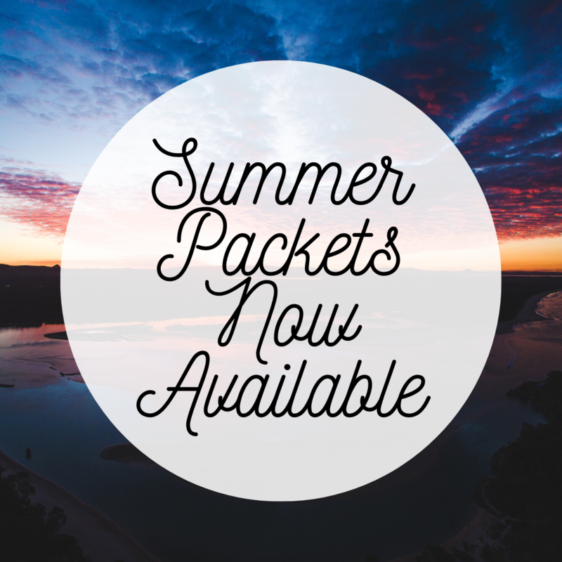 summer packets now available