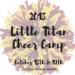 Little Titan Cheer Camp