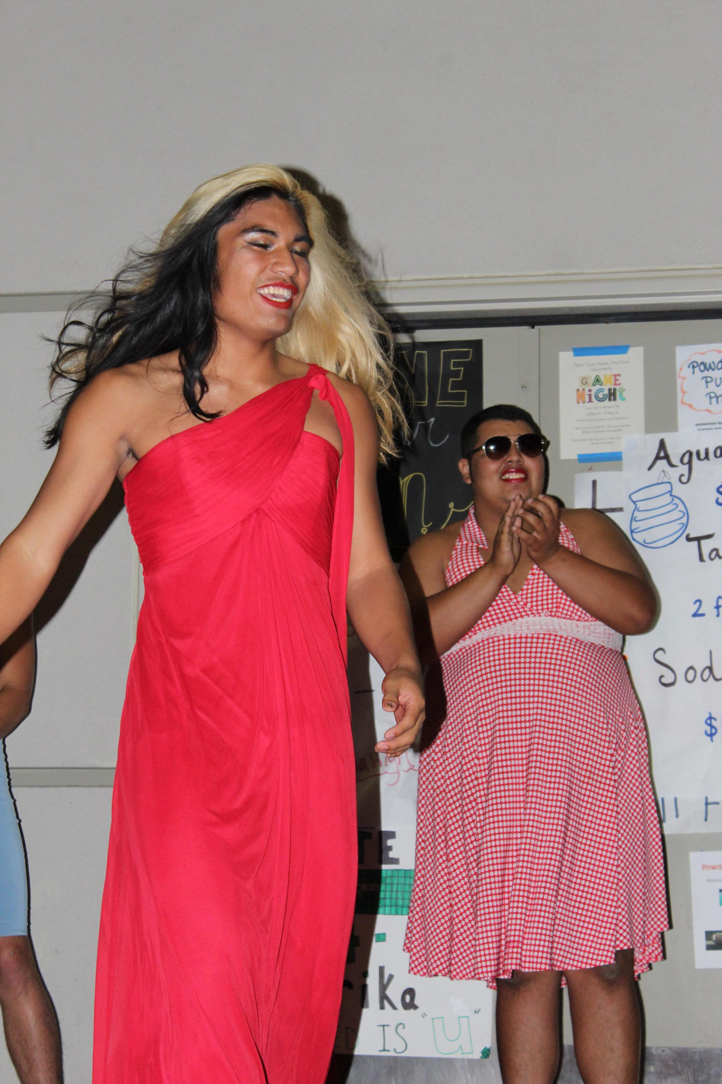 Students having fun at Mr. Tailgate