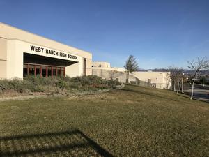 West Ranch High School exterior