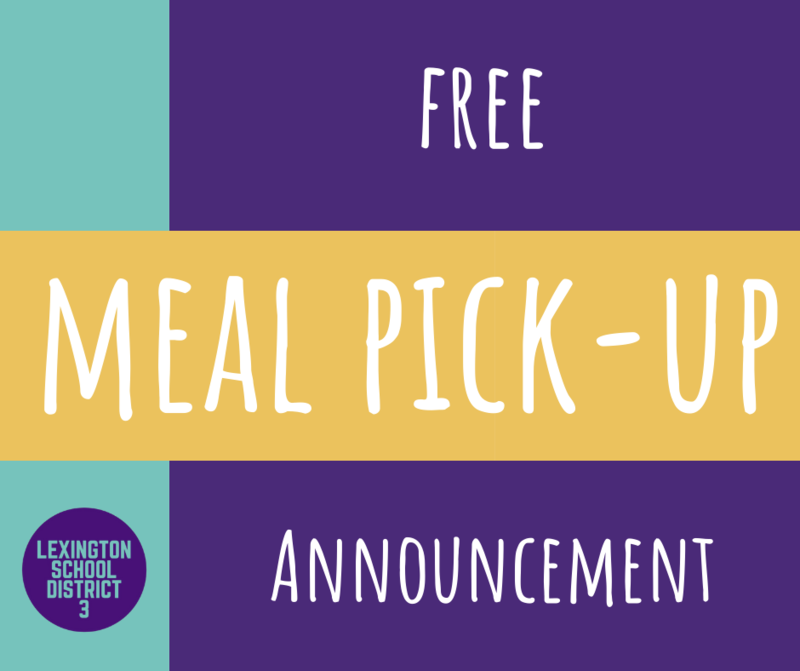 Free Meal Pick-Up Event Planned for May 19th