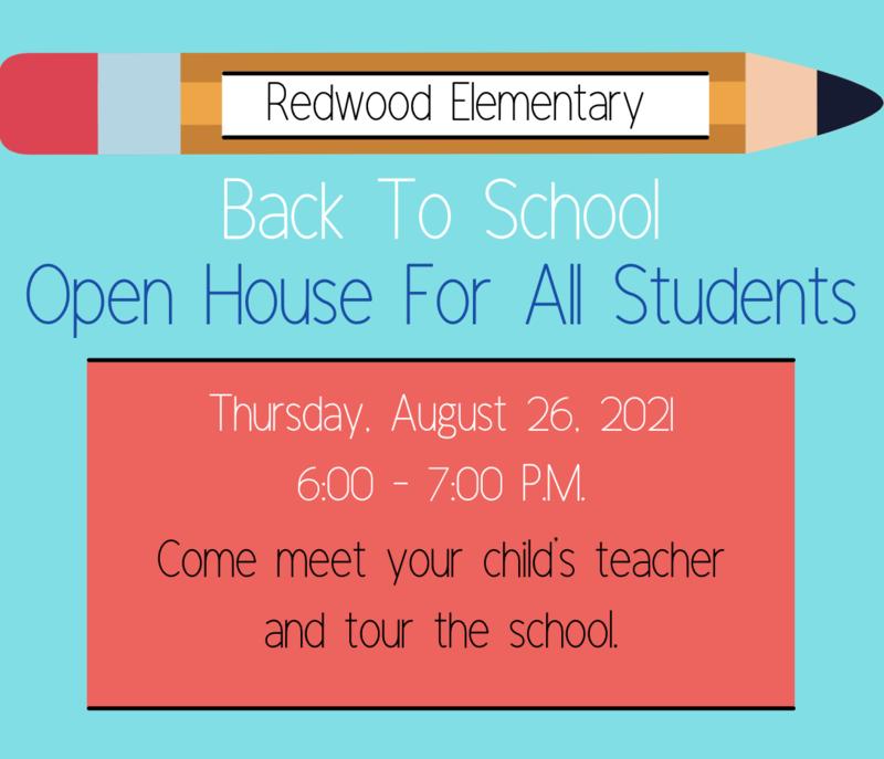 Open House (Redwood Elementary) Thumbnail Image