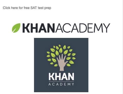Khan Academy Test Prep for SAT