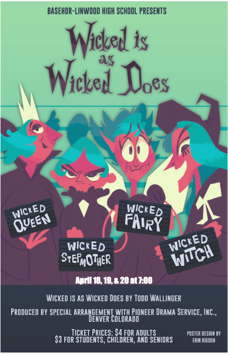 Wicked Is as Wicked Does Play Poster