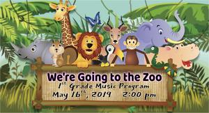 1st Grade Music Program - 16 may 2019