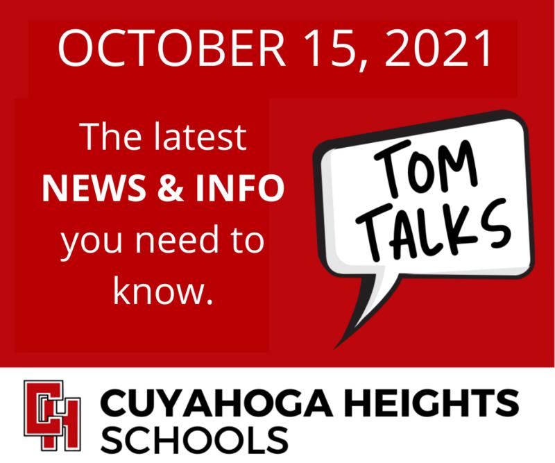 Tom Talks for October 15