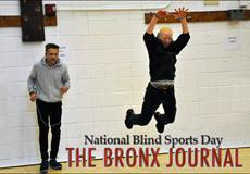 Bronx Journal article on Blind Sports Day