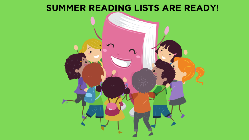 Looking for the Summer Reading Lists? Thumbnail Image