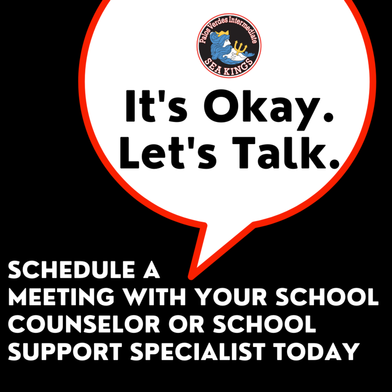 Connect With Your School Counselor and/or Support Specialist Thumbnail Image