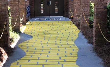 Follow the yellow brick road to learning at Westmont!